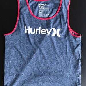 #11 NWT Boys Child/'s Size Medium Hurley Shirt Light Blue Tank Top